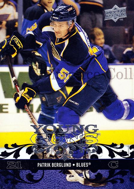 2008-09 Upper Deck #242 Patrik Berglund<br/>4 In Stock - $5.00 each - <a href=https://centericecollectibles.foxycart.com/cart?name=2008-09%20Upper%20Deck%20%23242%20Patrik%20Berglund...&quantity_max=4&price=$5.00&code=214094 class=foxycart> Buy it now! </a>