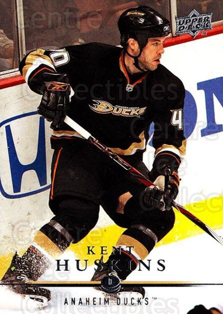 2008-09 Upper Deck #253 Kent Huskins<br/>3 In Stock - $1.00 each - <a href=https://centericecollectibles.foxycart.com/cart?name=2008-09%20Upper%20Deck%20%23253%20Kent%20Huskins...&quantity_max=3&price=$1.00&code=214105 class=foxycart> Buy it now! </a>