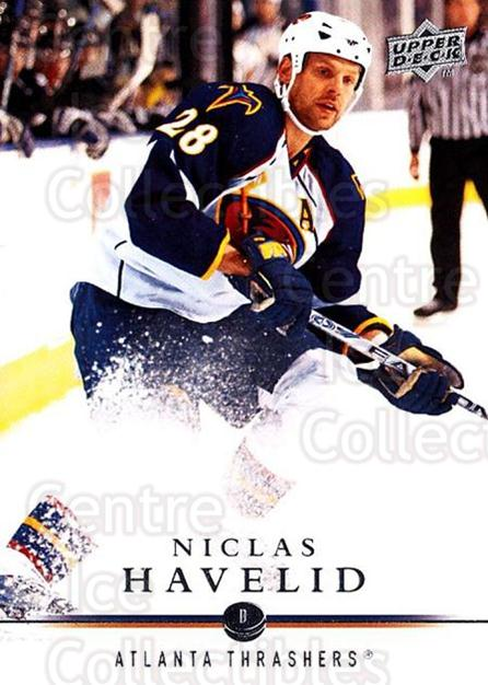 2008-09 Upper Deck #259 Niclas Havelid<br/>3 In Stock - $1.00 each - <a href=https://centericecollectibles.foxycart.com/cart?name=2008-09%20Upper%20Deck%20%23259%20Niclas%20Havelid...&quantity_max=3&price=$1.00&code=214111 class=foxycart> Buy it now! </a>