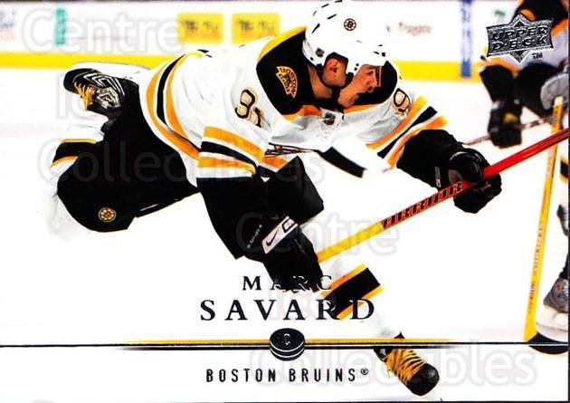 2008-09 Upper Deck #268 Marc Savard<br/>2 In Stock - $1.00 each - <a href=https://centericecollectibles.foxycart.com/cart?name=2008-09%20Upper%20Deck%20%23268%20Marc%20Savard...&quantity_max=2&price=$1.00&code=214120 class=foxycart> Buy it now! </a>