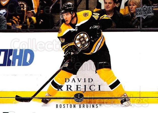 2008-09 Upper Deck #269 David Krejci<br/>2 In Stock - $1.00 each - <a href=https://centericecollectibles.foxycart.com/cart?name=2008-09%20Upper%20Deck%20%23269%20David%20Krejci...&quantity_max=2&price=$1.00&code=214121 class=foxycart> Buy it now! </a>