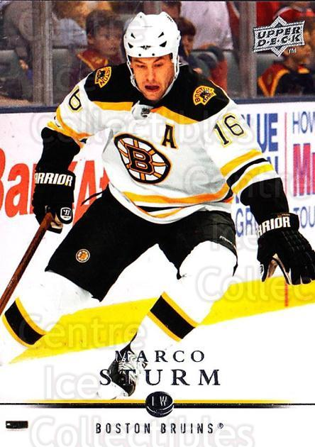 2008-09 Upper Deck #270 Marco Sturm<br/>1 In Stock - $1.00 each - <a href=https://centericecollectibles.foxycart.com/cart?name=2008-09%20Upper%20Deck%20%23270%20Marco%20Sturm...&quantity_max=1&price=$1.00&code=214122 class=foxycart> Buy it now! </a>