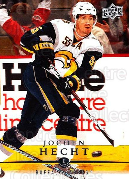 2008-09 Upper Deck #273 Jochen Hecht<br/>3 In Stock - $1.00 each - <a href=https://centericecollectibles.foxycart.com/cart?name=2008-09%20Upper%20Deck%20%23273%20Jochen%20Hecht...&quantity_max=3&price=$1.00&code=214125 class=foxycart> Buy it now! </a>