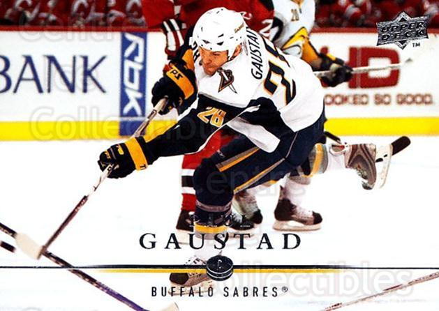 2008-09 Upper Deck #277 Paul Gaustad<br/>1 In Stock - $1.00 each - <a href=https://centericecollectibles.foxycart.com/cart?name=2008-09%20Upper%20Deck%20%23277%20Paul%20Gaustad...&quantity_max=1&price=$1.00&code=214129 class=foxycart> Buy it now! </a>