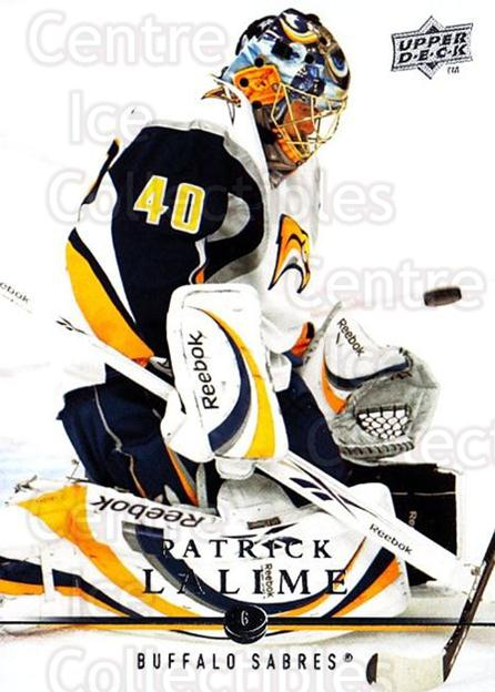 2008-09 Upper Deck #278 Patrick Lalime<br/>3 In Stock - $1.00 each - <a href=https://centericecollectibles.foxycart.com/cart?name=2008-09%20Upper%20Deck%20%23278%20Patrick%20Lalime...&quantity_max=3&price=$1.00&code=214130 class=foxycart> Buy it now! </a>