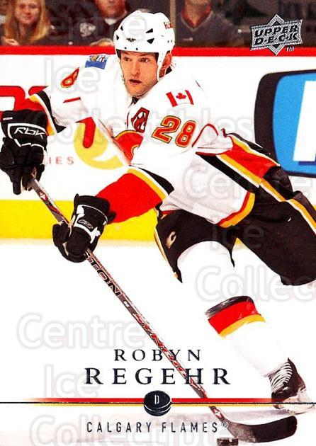 2008-09 Upper Deck #281 Robyn Regehr<br/>3 In Stock - $1.00 each - <a href=https://centericecollectibles.foxycart.com/cart?name=2008-09%20Upper%20Deck%20%23281%20Robyn%20Regehr...&quantity_max=3&price=$1.00&code=214133 class=foxycart> Buy it now! </a>
