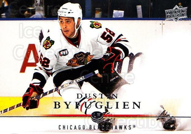 2008-09 Upper Deck #292 Dustin Byfuglien<br/>3 In Stock - $1.00 each - <a href=https://centericecollectibles.foxycart.com/cart?name=2008-09%20Upper%20Deck%20%23292%20Dustin%20Byfuglie...&quantity_max=3&price=$1.00&code=214144 class=foxycart> Buy it now! </a>