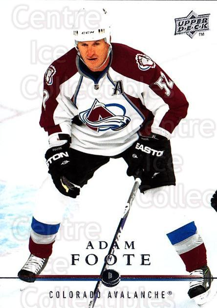 2008-09 Upper Deck #300 Adam Foote<br/>3 In Stock - $1.00 each - <a href=https://centericecollectibles.foxycart.com/cart?name=2008-09%20Upper%20Deck%20%23300%20Adam%20Foote...&quantity_max=3&price=$1.00&code=214152 class=foxycart> Buy it now! </a>
