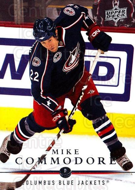 2008-09 Upper Deck #309 Mike Commodore<br/>3 In Stock - $1.00 each - <a href=https://centericecollectibles.foxycart.com/cart?name=2008-09%20Upper%20Deck%20%23309%20Mike%20Commodore...&quantity_max=3&price=$1.00&code=214161 class=foxycart> Buy it now! </a>