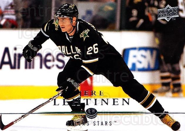 2008-09 Upper Deck #310 Jere Lehtinen<br/>3 In Stock - $1.00 each - <a href=https://centericecollectibles.foxycart.com/cart?name=2008-09%20Upper%20Deck%20%23310%20Jere%20Lehtinen...&quantity_max=3&price=$1.00&code=214162 class=foxycart> Buy it now! </a>