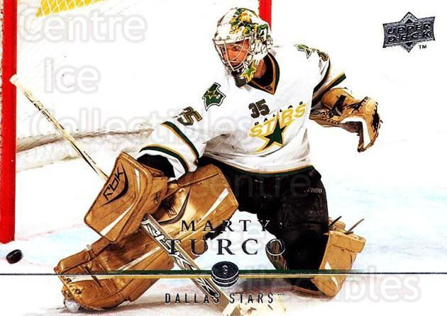 2008-09 Upper Deck #313 Marty Turco<br/>2 In Stock - $1.00 each - <a href=https://centericecollectibles.foxycart.com/cart?name=2008-09%20Upper%20Deck%20%23313%20Marty%20Turco...&quantity_max=2&price=$1.00&code=214165 class=foxycart> Buy it now! </a>