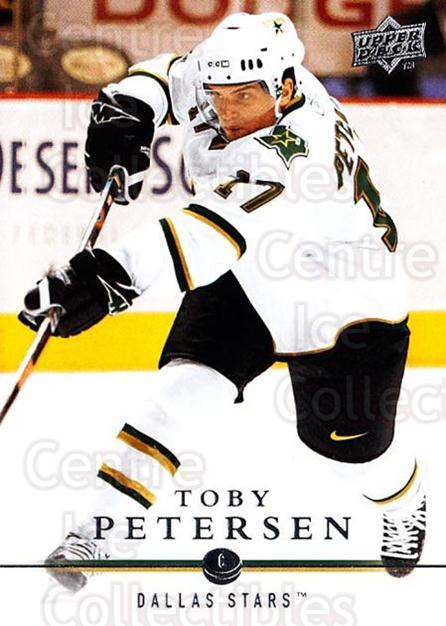 2008-09 Upper Deck #315 Toby Petersen<br/>1 In Stock - $1.00 each - <a href=https://centericecollectibles.foxycart.com/cart?name=2008-09%20Upper%20Deck%20%23315%20Toby%20Petersen...&quantity_max=1&price=$1.00&code=214167 class=foxycart> Buy it now! </a>