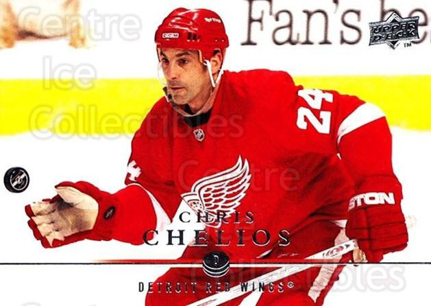 2008-09 Upper Deck #319 Chris Chelios<br/>2 In Stock - $1.00 each - <a href=https://centericecollectibles.foxycart.com/cart?name=2008-09%20Upper%20Deck%20%23319%20Chris%20Chelios...&quantity_max=2&price=$1.00&code=214171 class=foxycart> Buy it now! </a>