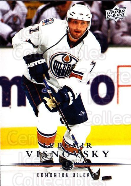 2008-09 Upper Deck #328 Lubomir Visnovsky<br/>1 In Stock - $1.00 each - <a href=https://centericecollectibles.foxycart.com/cart?name=2008-09%20Upper%20Deck%20%23328%20Lubomir%20Visnovs...&quantity_max=1&price=$1.00&code=214180 class=foxycart> Buy it now! </a>