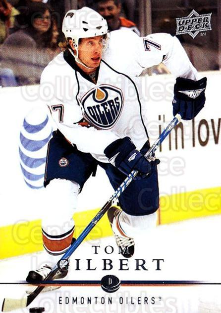 2008-09 Upper Deck #329 Tom Gilbert<br/>2 In Stock - $1.00 each - <a href=https://centericecollectibles.foxycart.com/cart?name=2008-09%20Upper%20Deck%20%23329%20Tom%20Gilbert...&quantity_max=2&price=$1.00&code=214181 class=foxycart> Buy it now! </a>