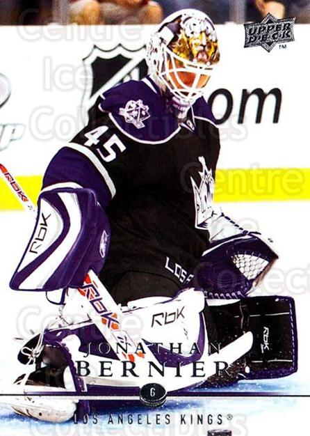2008-09 Upper Deck #341 Jonathan Bernier<br/>2 In Stock - $1.00 each - <a href=https://centericecollectibles.foxycart.com/cart?name=2008-09%20Upper%20Deck%20%23341%20Jonathan%20Bernie...&quantity_max=2&price=$1.00&code=214193 class=foxycart> Buy it now! </a>