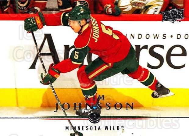 2008-09 Upper Deck #353 Kim Johnsson<br/>3 In Stock - $1.00 each - <a href=https://centericecollectibles.foxycart.com/cart?name=2008-09%20Upper%20Deck%20%23353%20Kim%20Johnsson...&quantity_max=3&price=$1.00&code=214205 class=foxycart> Buy it now! </a>