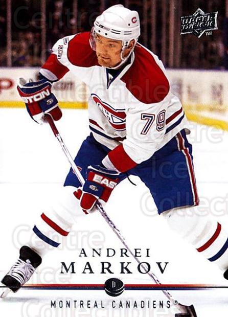 2008-09 Upper Deck #355 Andrei Markov<br/>1 In Stock - $1.00 each - <a href=https://centericecollectibles.foxycart.com/cart?name=2008-09%20Upper%20Deck%20%23355%20Andrei%20Markov...&quantity_max=1&price=$1.00&code=214207 class=foxycart> Buy it now! </a>