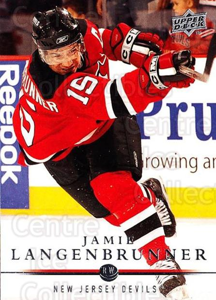 2008-09 Upper Deck #369 Jamie Langenbrunner<br/>3 In Stock - $1.00 each - <a href=https://centericecollectibles.foxycart.com/cart?name=2008-09%20Upper%20Deck%20%23369%20Jamie%20Langenbru...&quantity_max=3&price=$1.00&code=214221 class=foxycart> Buy it now! </a>