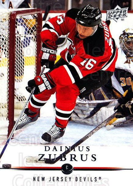 2008-09 Upper Deck #370 Dainius Zubrus<br/>4 In Stock - $1.00 each - <a href=https://centericecollectibles.foxycart.com/cart?name=2008-09%20Upper%20Deck%20%23370%20Dainius%20Zubrus...&quantity_max=4&price=$1.00&code=214222 class=foxycart> Buy it now! </a>