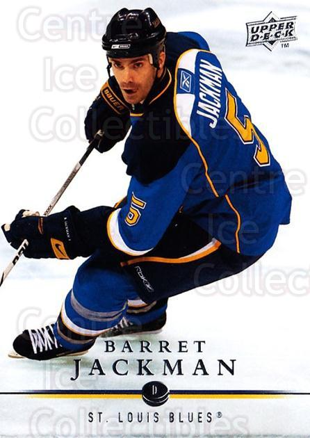 2008-09 Upper Deck #418 Barret Jackman<br/>4 In Stock - $1.00 each - <a href=https://centericecollectibles.foxycart.com/cart?name=2008-09%20Upper%20Deck%20%23418%20Barret%20Jackman...&quantity_max=4&price=$1.00&code=214270 class=foxycart> Buy it now! </a>