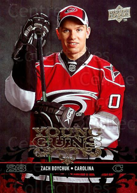 2008-09 Upper Deck #457 Zach Boychuk<br/>2 In Stock - $5.00 each - <a href=https://centericecollectibles.foxycart.com/cart?name=2008-09%20Upper%20Deck%20%23457%20Zach%20Boychuk...&quantity_max=2&price=$5.00&code=214309 class=foxycart> Buy it now! </a>