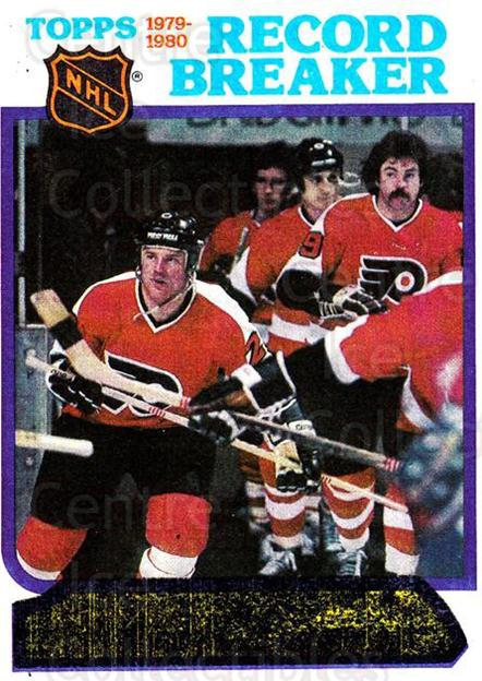 1980-81 Topps #1 Philadelphia Flyers<br/>1 In Stock - $1.00 each - <a href=https://centericecollectibles.foxycart.com/cart?name=1980-81%20Topps%20%231%20Philadelphia%20Fl...&price=$1.00&code=214353 class=foxycart> Buy it now! </a>