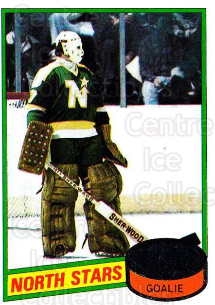 1980-81 Topps #47 Gilles Meloche<br/>3 In Stock - $1.00 each - <a href=https://centericecollectibles.foxycart.com/cart?name=1980-81%20Topps%20%2347%20Gilles%20Meloche...&price=$1.00&code=214399 class=foxycart> Buy it now! </a>