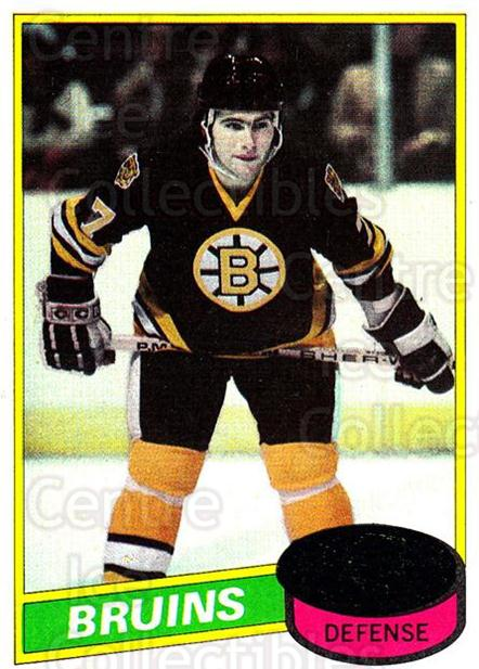 1980-81 Topps #140 Ray Bourque<br/>1 In Stock - $30.00 each - <a href=https://centericecollectibles.foxycart.com/cart?name=1980-81%20Topps%20%23140%20Ray%20Bourque...&quantity_max=1&price=$30.00&code=214492 class=foxycart> Buy it now! </a>