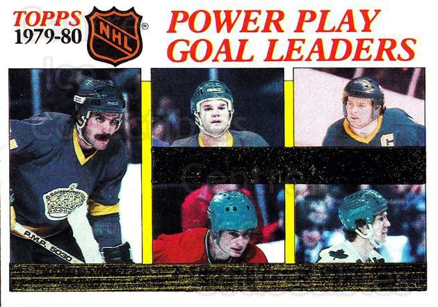 1980-81 Topps #165 Marcel Dionne, Darryl Sittler, Charlie Simmer, Danny Gare, Steve Shutt<br/>5 In Stock - $2.00 each - <a href=https://centericecollectibles.foxycart.com/cart?name=1980-81%20Topps%20%23165%20Marcel%20Dionne,%20...&quantity_max=5&price=$2.00&code=214517 class=foxycart> Buy it now! </a>