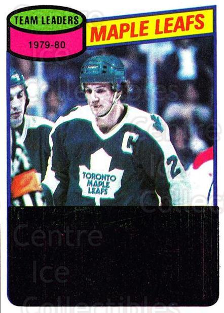1980-81 Topps #193 Darryl Sittler, Checklist<br/>4 In Stock - $2.00 each - <a href=https://centericecollectibles.foxycart.com/cart?name=1980-81%20Topps%20%23193%20Darryl%20Sittler,...&price=$2.00&code=214545 class=foxycart> Buy it now! </a>