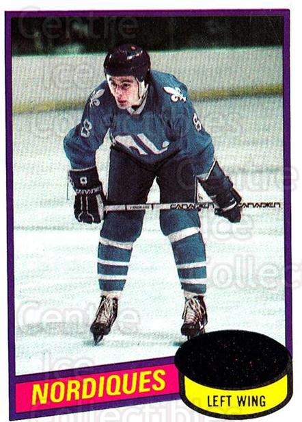 1980-81 Topps #256 Marc Tardif<br/>5 In Stock - $1.00 each - <a href=https://centericecollectibles.foxycart.com/cart?name=1980-81%20Topps%20%23256%20Marc%20Tardif...&price=$1.00&code=214608 class=foxycart> Buy it now! </a>