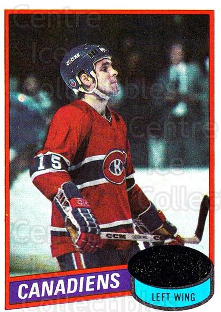 1980-81 Topps #261 Rejean Houle<br/>6 In Stock - $1.00 each - <a href=https://centericecollectibles.foxycart.com/cart?name=1980-81%20Topps%20%23261%20Rejean%20Houle...&price=$1.00&code=214613 class=foxycart> Buy it now! </a>
