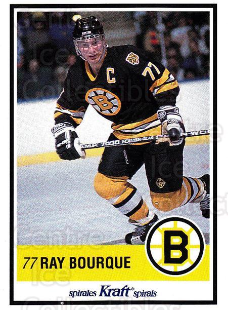 1990-91 Kraft #3 Ray Bourque<br/>1 In Stock - $3.00 each - <a href=https://centericecollectibles.foxycart.com/cart?name=1990-91%20Kraft%20%233%20Ray%20Bourque...&quantity_max=1&price=$3.00&code=214630 class=foxycart> Buy it now! </a>