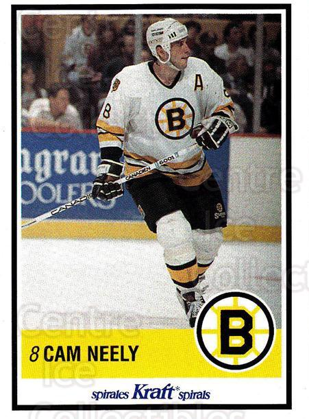 1990-91 Kraft #39 Cam Neely<br/>1 In Stock - $3.00 each - <a href=https://centericecollectibles.foxycart.com/cart?name=1990-91%20Kraft%20%2339%20Cam%20Neely...&quantity_max=1&price=$3.00&code=214639 class=foxycart> Buy it now! </a>