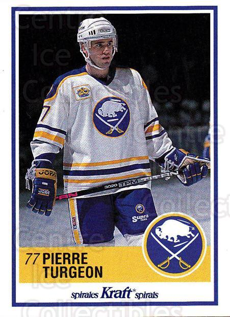 1990-91 Kraft #59 Pierre Turgeon<br/>1 In Stock - $2.00 each - <a href=https://centericecollectibles.foxycart.com/cart?name=1990-91%20Kraft%20%2359%20Pierre%20Turgeon...&quantity_max=1&price=$2.00&code=214643 class=foxycart> Buy it now! </a>
