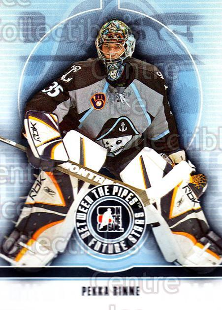 2008-09 Between The Pipes #39 Pekka Rinne<br/>9 In Stock - $1.00 each - <a href=https://centericecollectibles.foxycart.com/cart?name=2008-09%20Between%20The%20Pipes%20%2339%20Pekka%20Rinne...&quantity_max=9&price=$1.00&code=214748 class=foxycart> Buy it now! </a>