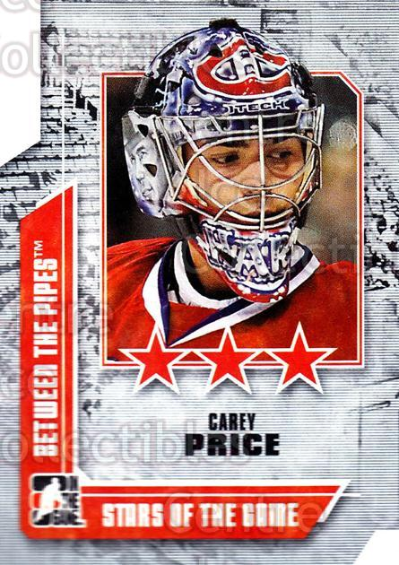 2008-09 Between The Pipes #63 Carey Price<br/>45 In Stock - $2.00 each - <a href=https://centericecollectibles.foxycart.com/cart?name=2008-09%20Between%20The%20Pipes%20%2363%20Carey%20Price...&price=$2.00&code=214772 class=foxycart> Buy it now! </a>