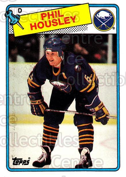 1988-89 Topps #119 Phil Housley<br/>7 In Stock - $1.00 each - <a href=https://centericecollectibles.foxycart.com/cart?name=1988-89%20Topps%20%23119%20Phil%20Housley...&quantity_max=7&price=$1.00&code=21477 class=foxycart> Buy it now! </a>