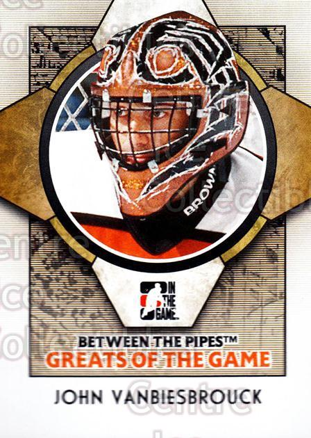 2008-09 Between The Pipes #87 John Vanbiesbrouck<br/>12 In Stock - $1.00 each - <a href=https://centericecollectibles.foxycart.com/cart?name=2008-09%20Between%20The%20Pipes%20%2387%20John%20Vanbiesbro...&quantity_max=12&price=$1.00&code=214796 class=foxycart> Buy it now! </a>
