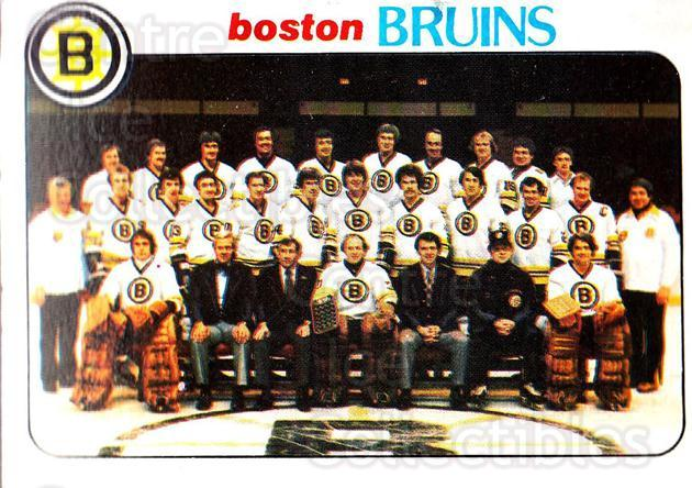 1978-79 Topps #193 Boston Bruins, Checklist<br/>8 In Stock - $1.00 each - <a href=https://centericecollectibles.foxycart.com/cart?name=1978-79%20Topps%20%23193%20Boston%20Bruins,%20...&quantity_max=8&price=$1.00&code=214884 class=foxycart> Buy it now! </a>