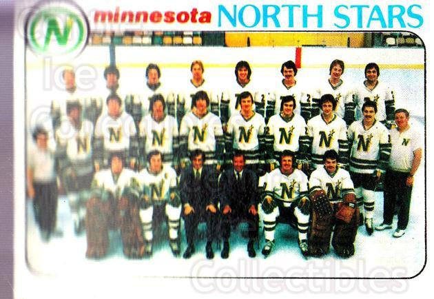 1978-79 Topps #199 Minnesota North Stars, Checklist<br/>11 In Stock - $1.00 each - <a href=https://centericecollectibles.foxycart.com/cart?name=1978-79%20Topps%20%23199%20Minnesota%20North...&quantity_max=11&price=$1.00&code=214890 class=foxycart> Buy it now! </a>