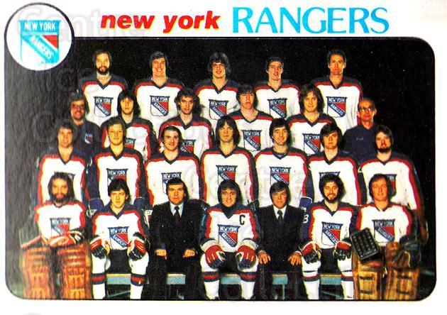 1978-79 Topps #202 New York Rangers, Checklist<br/>8 In Stock - $1.00 each - <a href=https://centericecollectibles.foxycart.com/cart?name=1978-79%20Topps%20%23202%20New%20York%20Ranger...&quantity_max=8&price=$1.00&code=214893 class=foxycart> Buy it now! </a>