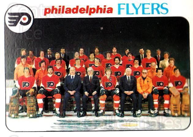 1978-79 Topps #203 Philadelphia Flyers, Checklist<br/>7 In Stock - $1.00 each - <a href=https://centericecollectibles.foxycart.com/cart?name=1978-79%20Topps%20%23203%20Philadelphia%20Fl...&quantity_max=7&price=$1.00&code=214894 class=foxycart> Buy it now! </a>