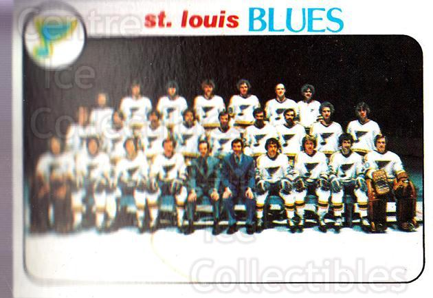 1978-79 Topps #205 St. Louis Blues, Checklist<br/>10 In Stock - $1.00 each - <a href=https://centericecollectibles.foxycart.com/cart?name=1978-79%20Topps%20%23205%20St.%20Louis%20Blues...&quantity_max=10&price=$1.00&code=214896 class=foxycart> Buy it now! </a>