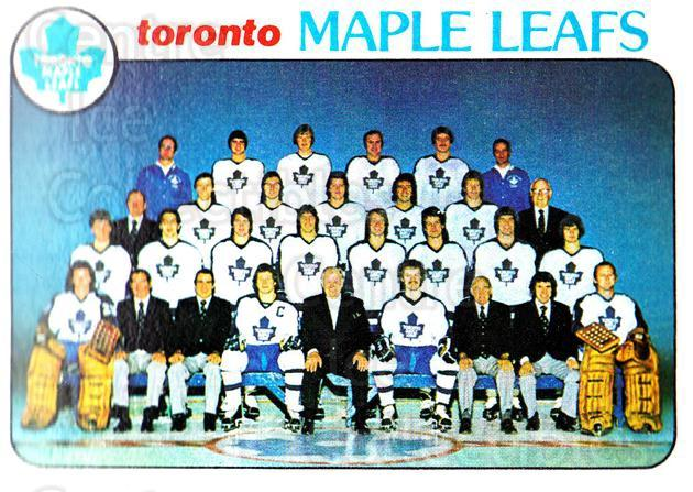 1978-79 Topps #206 Toronto Maple Leafs, Checklist<br/>9 In Stock - $1.00 each - <a href=https://centericecollectibles.foxycart.com/cart?name=1978-79%20Topps%20%23206%20Toronto%20Maple%20L...&quantity_max=9&price=$1.00&code=214897 class=foxycart> Buy it now! </a>
