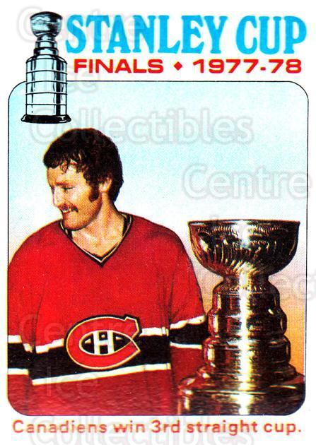 1978-79 Topps #264 Larry Robinson, Stanley Cup<br/>1 In Stock - $2.00 each - <a href=https://centericecollectibles.foxycart.com/cart?name=1978-79%20Topps%20%23264%20Larry%20Robinson,...&quantity_max=1&price=$2.00&code=214903 class=foxycart> Buy it now! </a>