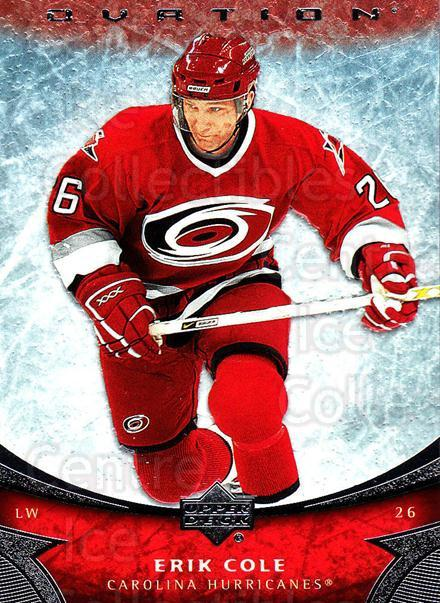 2006-07 UD Ovation #9 Erik Cole<br/>1 In Stock - $1.00 each - <a href=https://centericecollectibles.foxycart.com/cart?name=2006-07%20UD%20Ovation%20%239%20Erik%20Cole...&quantity_max=1&price=$1.00&code=214923 class=foxycart> Buy it now! </a>