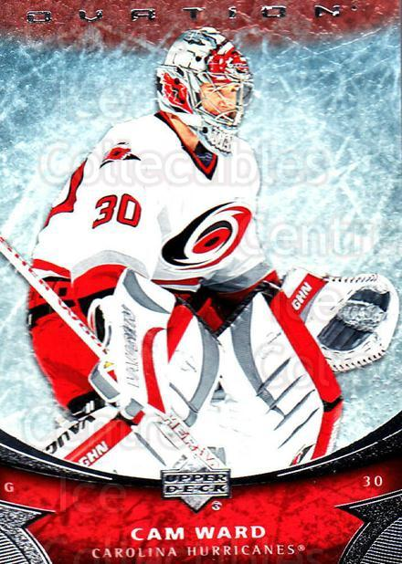2006-07 UD Ovation #59 Cam Ward<br/>1 In Stock - $1.00 each - <a href=https://centericecollectibles.foxycart.com/cart?name=2006-07%20UD%20Ovation%20%2359%20Cam%20Ward...&price=$1.00&code=214973 class=foxycart> Buy it now! </a>