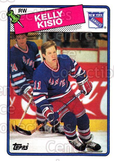 1988-89 Topps #143 Kelly Kisio<br/>7 In Stock - $1.00 each - <a href=https://centericecollectibles.foxycart.com/cart?name=1988-89%20Topps%20%23143%20Kelly%20Kisio...&quantity_max=7&price=$1.00&code=21502 class=foxycart> Buy it now! </a>
